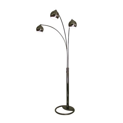 Nova Triplet 3 Light Arc Floor Lamp