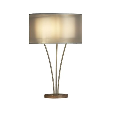 "Nova Teton 28"" H Table Lamp with Drum Shade"
