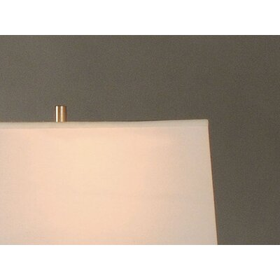 "Nova Intersect 30"" H Table Lamp with Rectangle Shade"