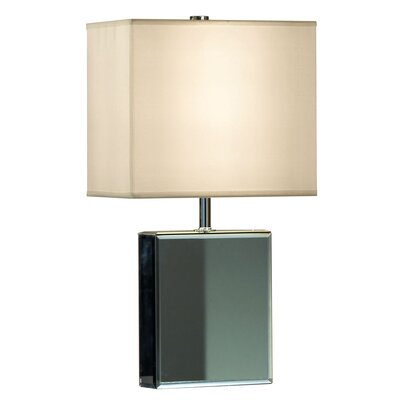 Hepburn Table Lamp in Chrome Mirror