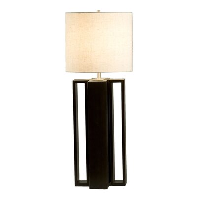 "Nova Hagen 31"" H Table Lamp Drum Shade"