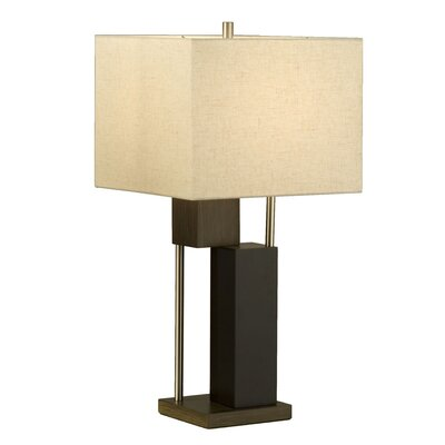 "Nova Bild 28"" H Table Lamp with Square Shade"