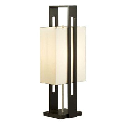 "Nova Tumi 30"" H Table Lamp with Rectangle Shade"