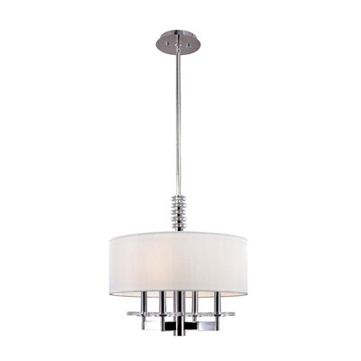 Hudson Valley Lighting Chelsea 4 Light Drum Pendant