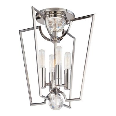Hudson Valley Lighting Waterloo 4 Light Semi Flush