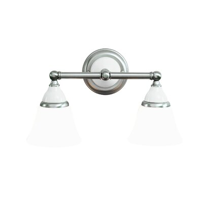 Hudson Valley Lighting Porcelain 2 Light Vanity Light