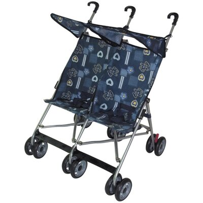 Amoroso Enterprise Inc Twin Double Stroller