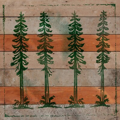 Jen Lee Art Adirondack Mountains Reclaimed Wood - Douglas Fir Art