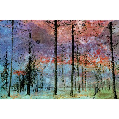 Jen Lee Art Lost in the Forest Canvas Art