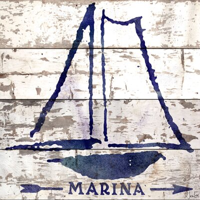 Marina Reclaimed Wood - White Barn Siding Art
