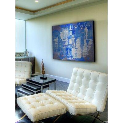 Jen Lee Art New York Skyline Aluminum Art