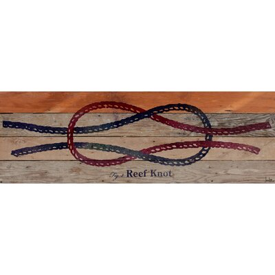 Jen Lee Art Reef Knot Reclaimed Wood - Douglas Fir Art