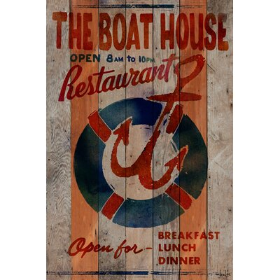 The Boathouse Restaurant Reclaimed Wood - Douglas Fir Art