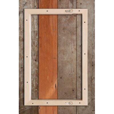 Jen Lee Art Hello Reclaimed Wood - Douglas Fir Art
