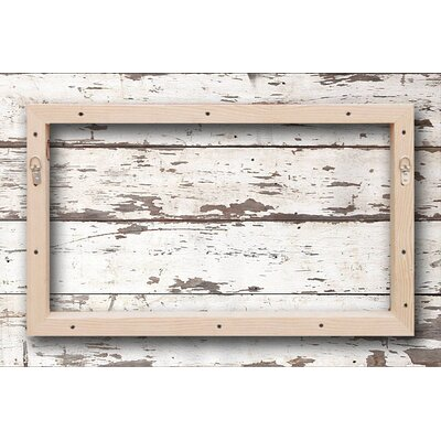 Jen Lee Art Regatta - Reclaimed Wood - White Barn Siding Art
