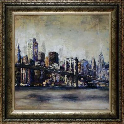 City Landmark I by Bridges Framed Painting Print