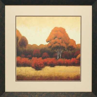 Autumn Forest I by James Wrens Framed Painting Print
