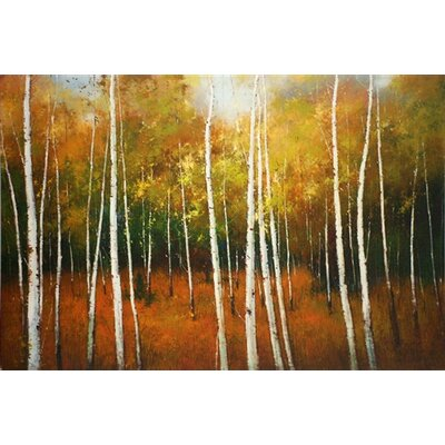 Forest Spires Canvas Wall Art