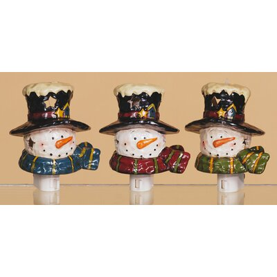 Oddity Inc. Snowman Night Light Christmas Decoration