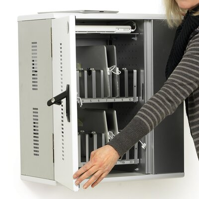Anthro Tablet Charging Cabinet, 20 Unit