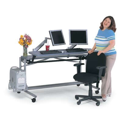 Anthro Adjusta Unit Computer Desk