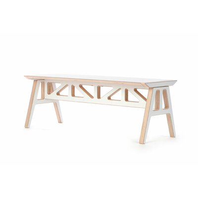 Context Furniture Truss A - Frame Birch Bench