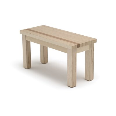 Narrative Structure Wooden Bench