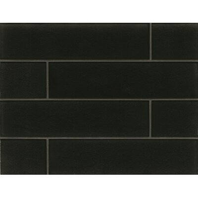 Field Tile Gloss in Midnight Manhattan Glass