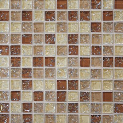 Mosaic Gloss Tile in Tan