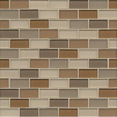 "Bedrosians 1-7/8"" x 15/16"" Mosaic Staggered Joint Gloss/Matte Combo Urban"
