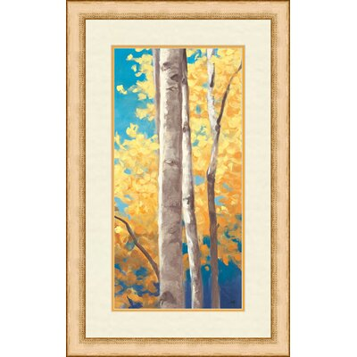 Autumn Cream II Framed Painting Print