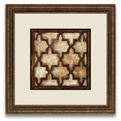 Epic Art Patterns of Passion Parisian Tile II Wall Art