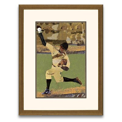 Epic Art Pastimes of Yesteryear Lets Play Ball II Framed Graphic Art