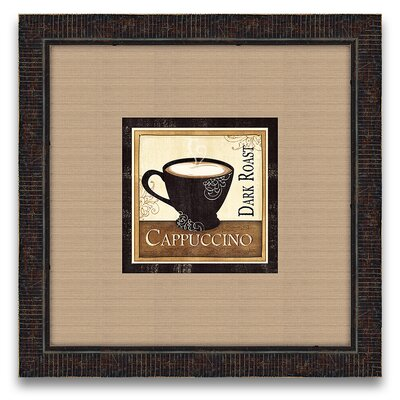 Epic Art The Connoisseur's Eye Coffee and Cream II Wall Art
