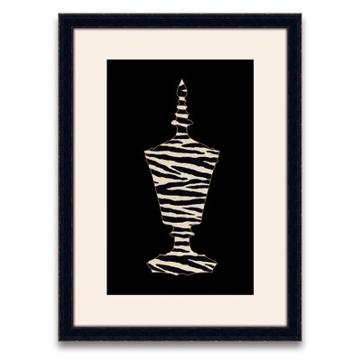 Epic Art Silhouette Vases II Wall Art