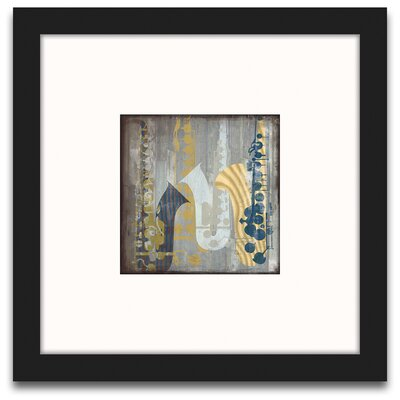 Epic Art A Motley Melody Sax Wall Art