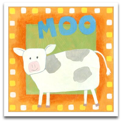 Epic Art Moo Framed Art