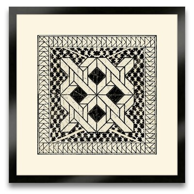 Epic Art The Pretty Pantile Small Tile I Wall Art