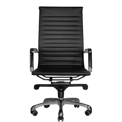 Wobi Office Robin High-Back Leather Chair