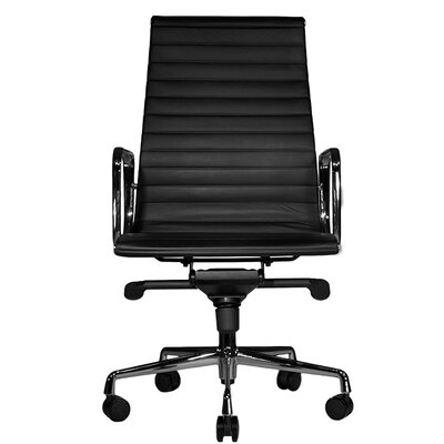 Wobi Office Reed High-Back Leather Chair