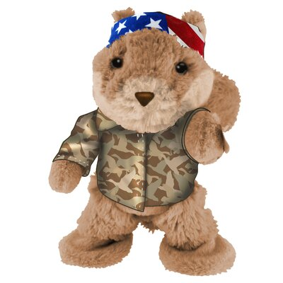Duck Dynasty Dancing Squirrel Plush