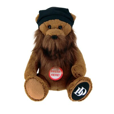 Duck Dynasty Jase Bear Plush with Sound