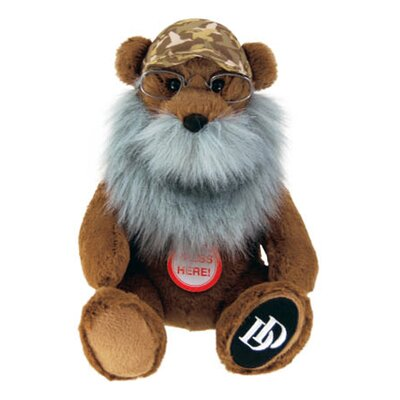 Duck Dynasty Si Bear Plush with Sound