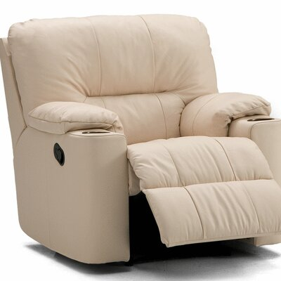 Palliser Furniture Kingpin Leather Chaise Recliner