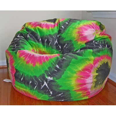 Ahh! Products Tie Dye Cotton Bean Bag Chair