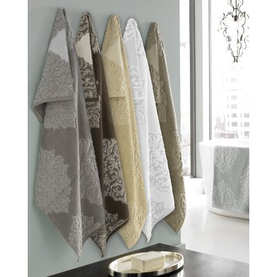 Trump Home Bedminister Medallion 3 Piece Towel Set