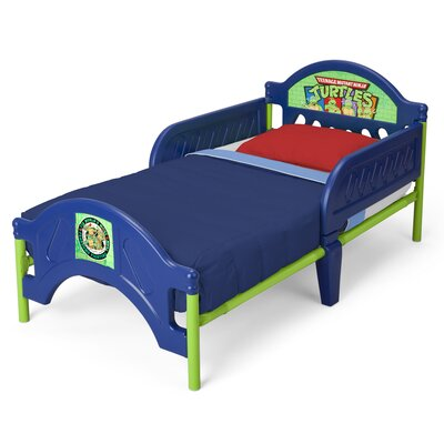 Delta Enterprises Ninja Turtles Toddler Bed