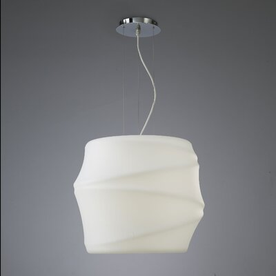 Contempo Lights Inc Lotus Drum Pendant