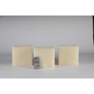 Contempo Lights Inc Vanilla Flameless Candle
