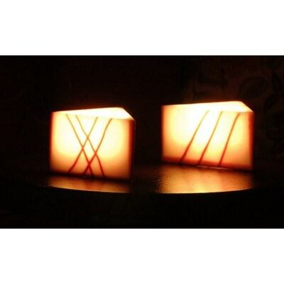 Contempo Lights Inc Vanilla Flameless Candle